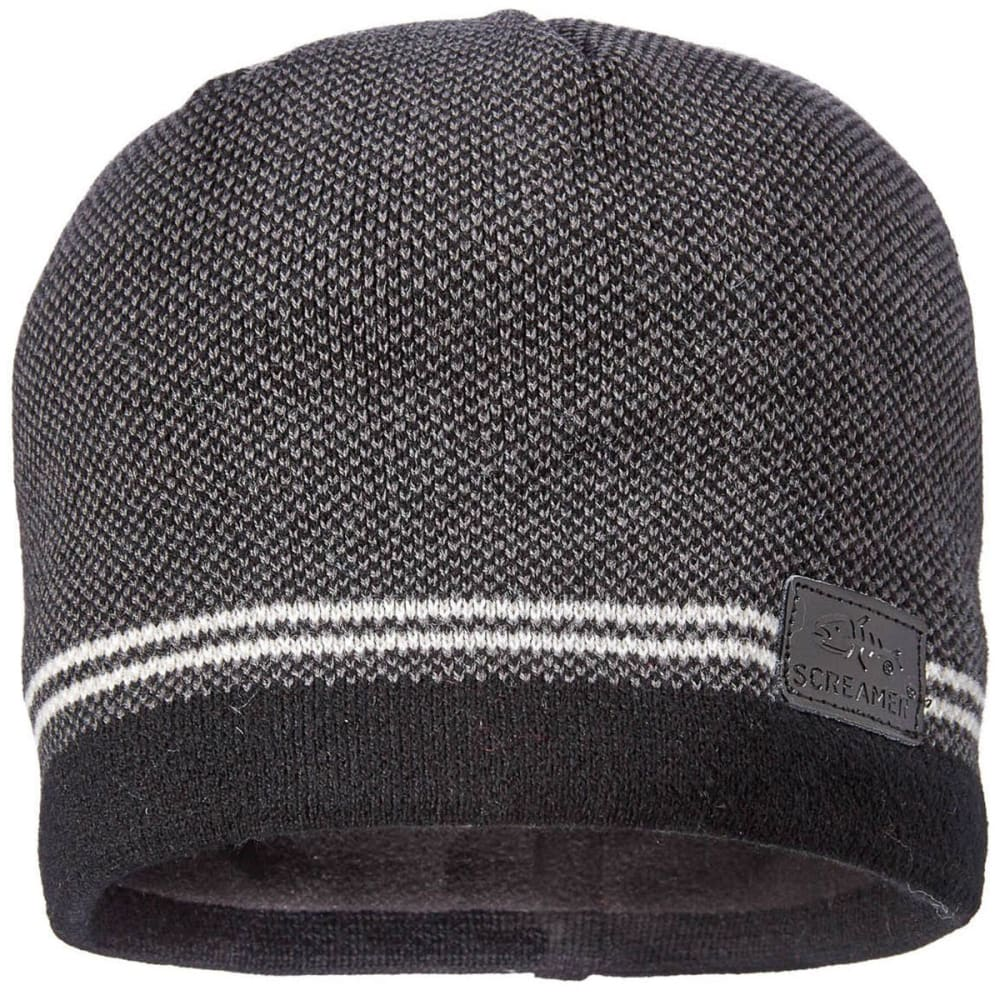 SCREAMER Double Down Beanie - BLACK/MIDNIGHT-249