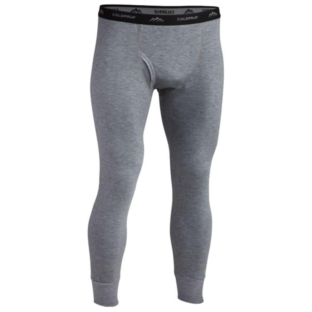 COLDPRUF Men's Platinum II Thermal Base Layer Pants - HEATHER GREY
