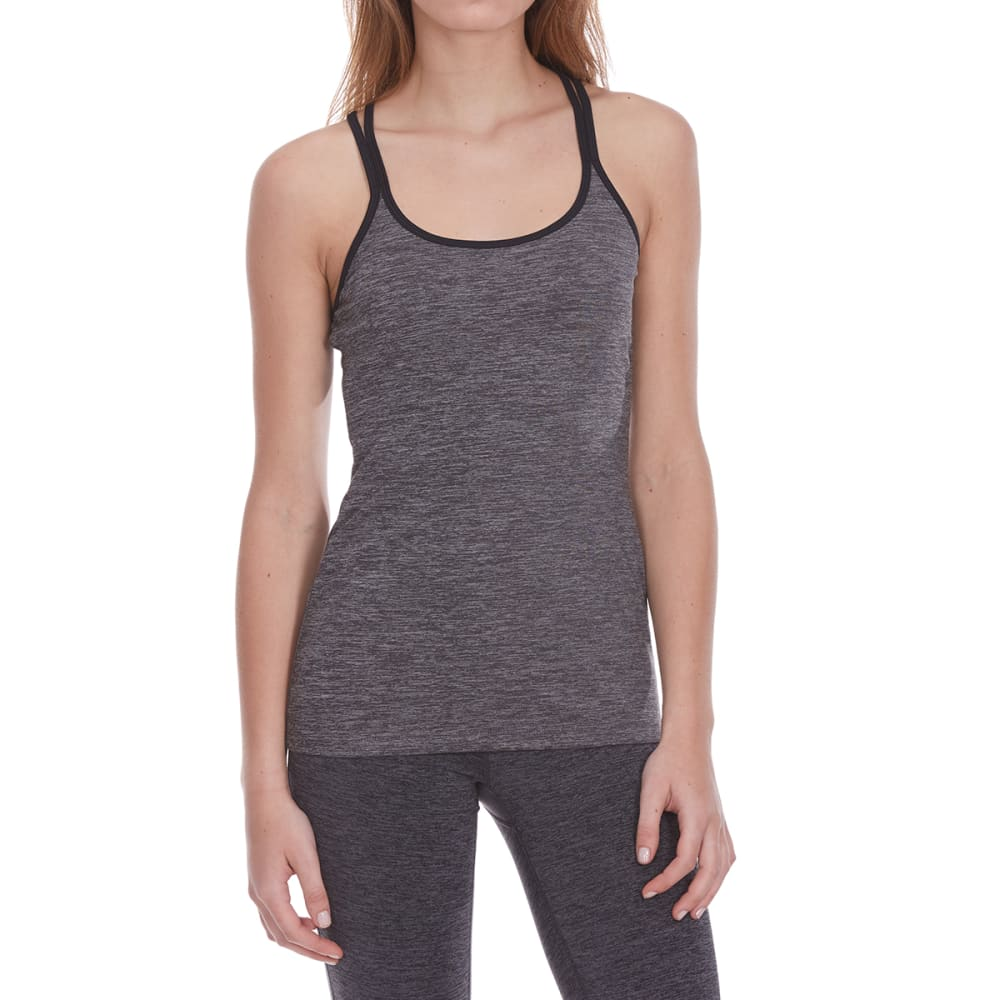 GAIAM Women's Calypso Tank Top - CHAR HTR-R157