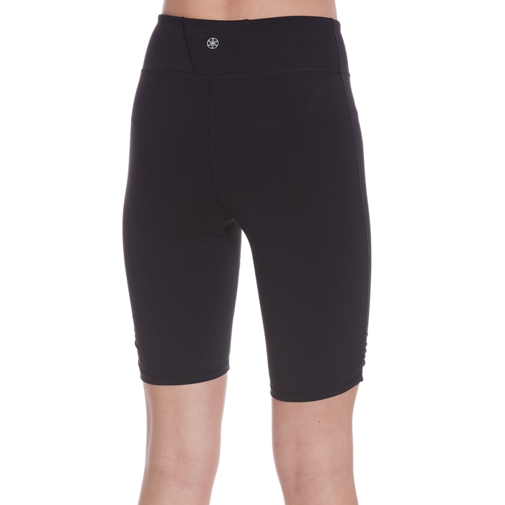 GAIAM Women's Om Yoga Shorts - BLACK-S009