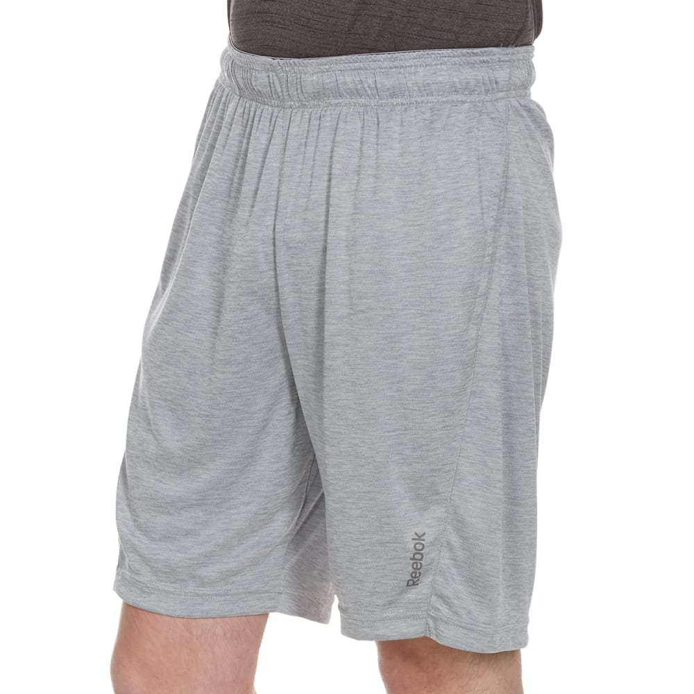 REEBOK Men's Cruz Shorts - GREY HTR-R144