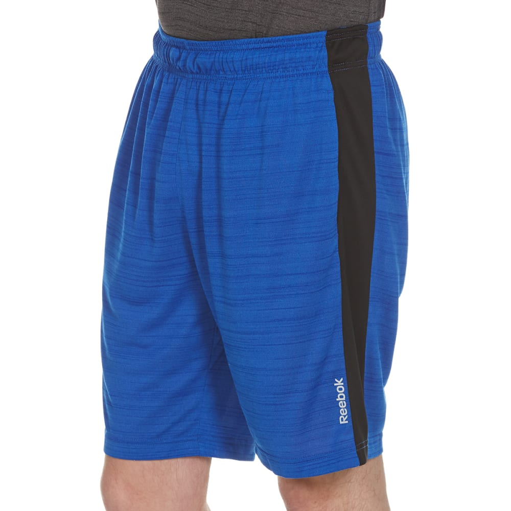 REEBOK Men's 9 in. McGregor Shorts - VITAL BLUE HTR-R476