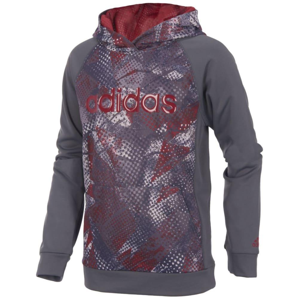 Adidas Big Boys Digi Fusion Pullover Hoodie - Black, S