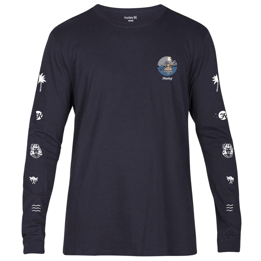 HURLEY Men's Sirena Long-Sleeve Shirt - BLACK-00A