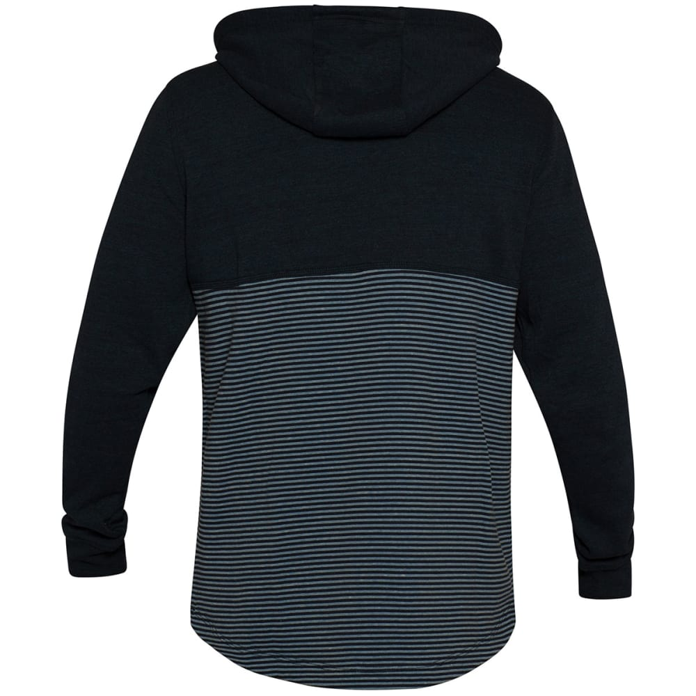 HURLEY Guys' Bayside Fleece Pullover Hoodie - DRKBLUE/OBSIDIAN-45B
