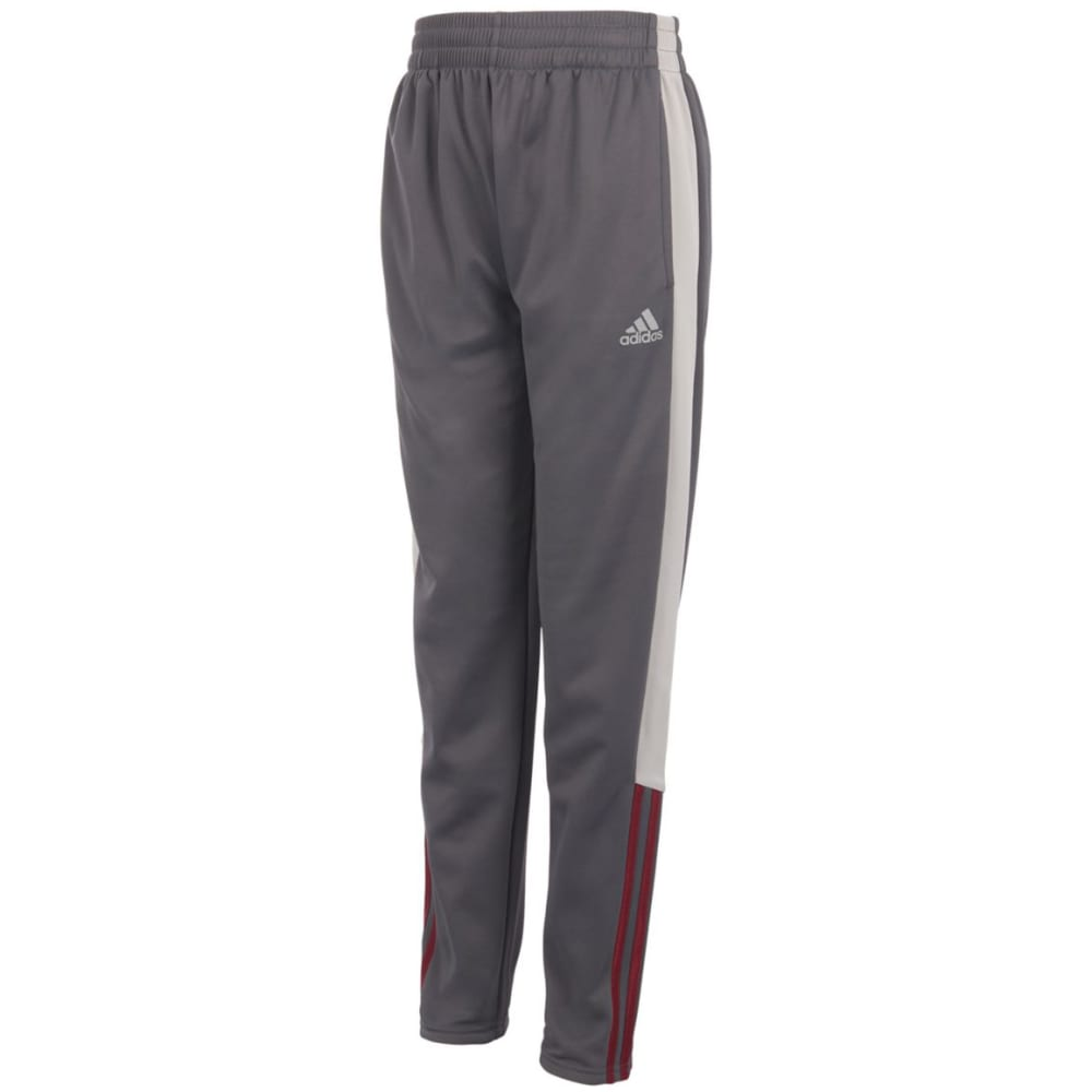 ADIDAS Big Boys' Striker Fleece Pants - GREY FIVE HTR- AH07