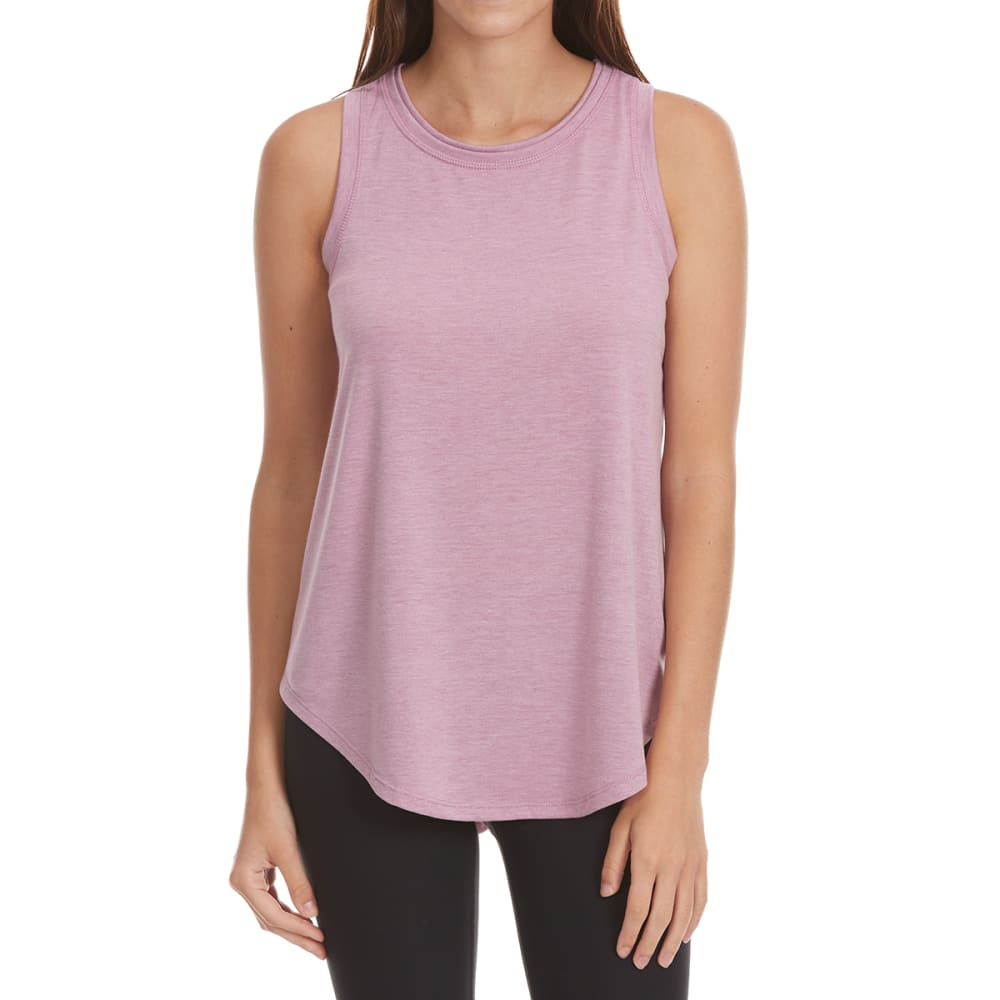 Yogalicious Women's Racer Back Tank - Purple, L