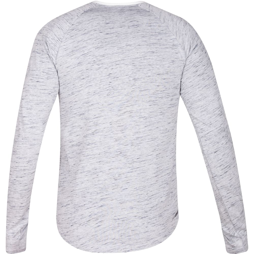 HURLEY Men's Dri-Fit San Clemente Henley Shirt - WHITE-10A