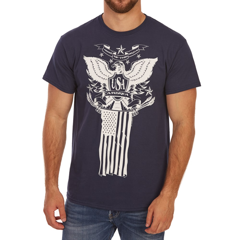 5STAR Guys' Home of the Brave Short-Sleeve Tee - NAVY
