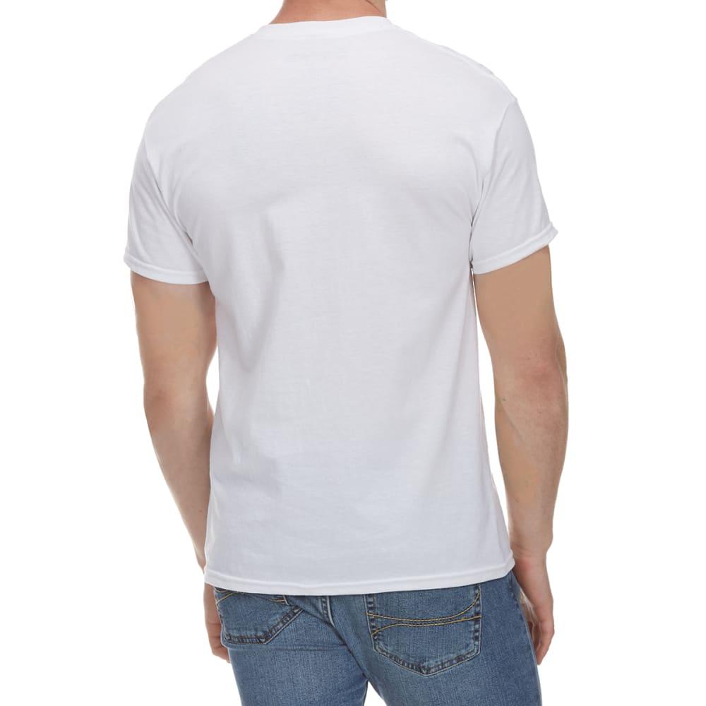 5STAR Guys' Constitution USA Flag Short-Sleeve Tee - WHITE