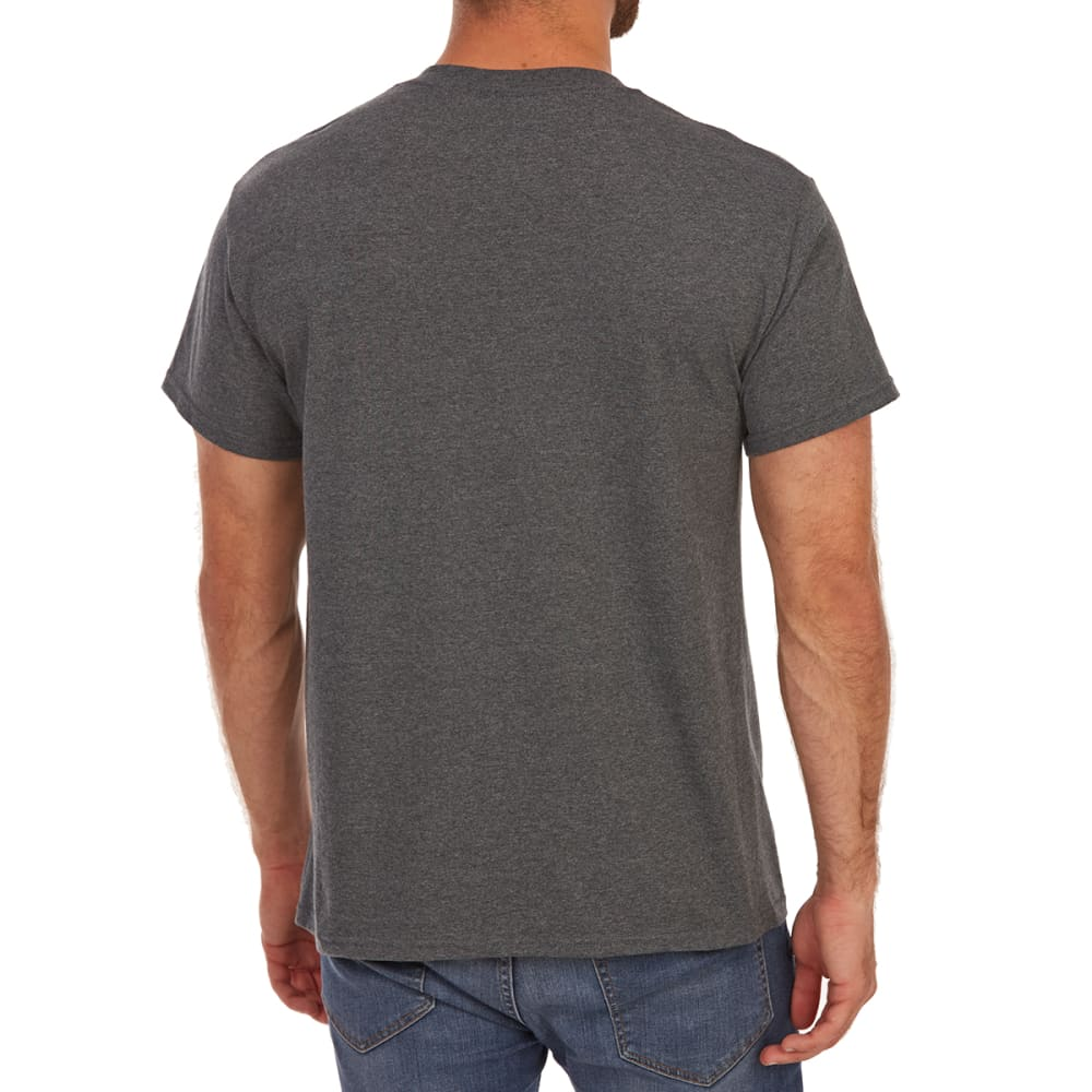 5STAR Guys' Proud American Eagle Short-Sleeve Graphic Tee - CHARCOAL HTR