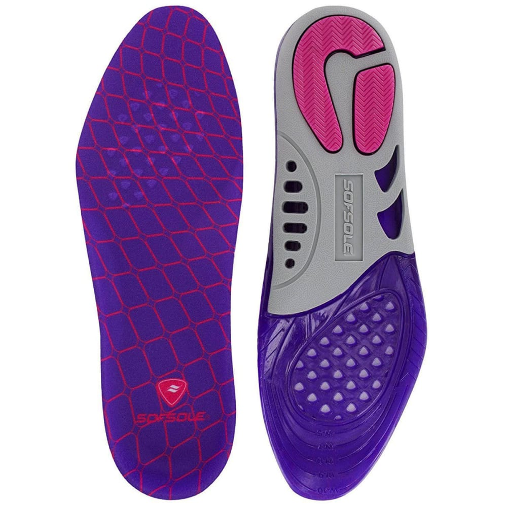 SOF SOLE Women's Massaging Gel Support Insoles - ASSORTED