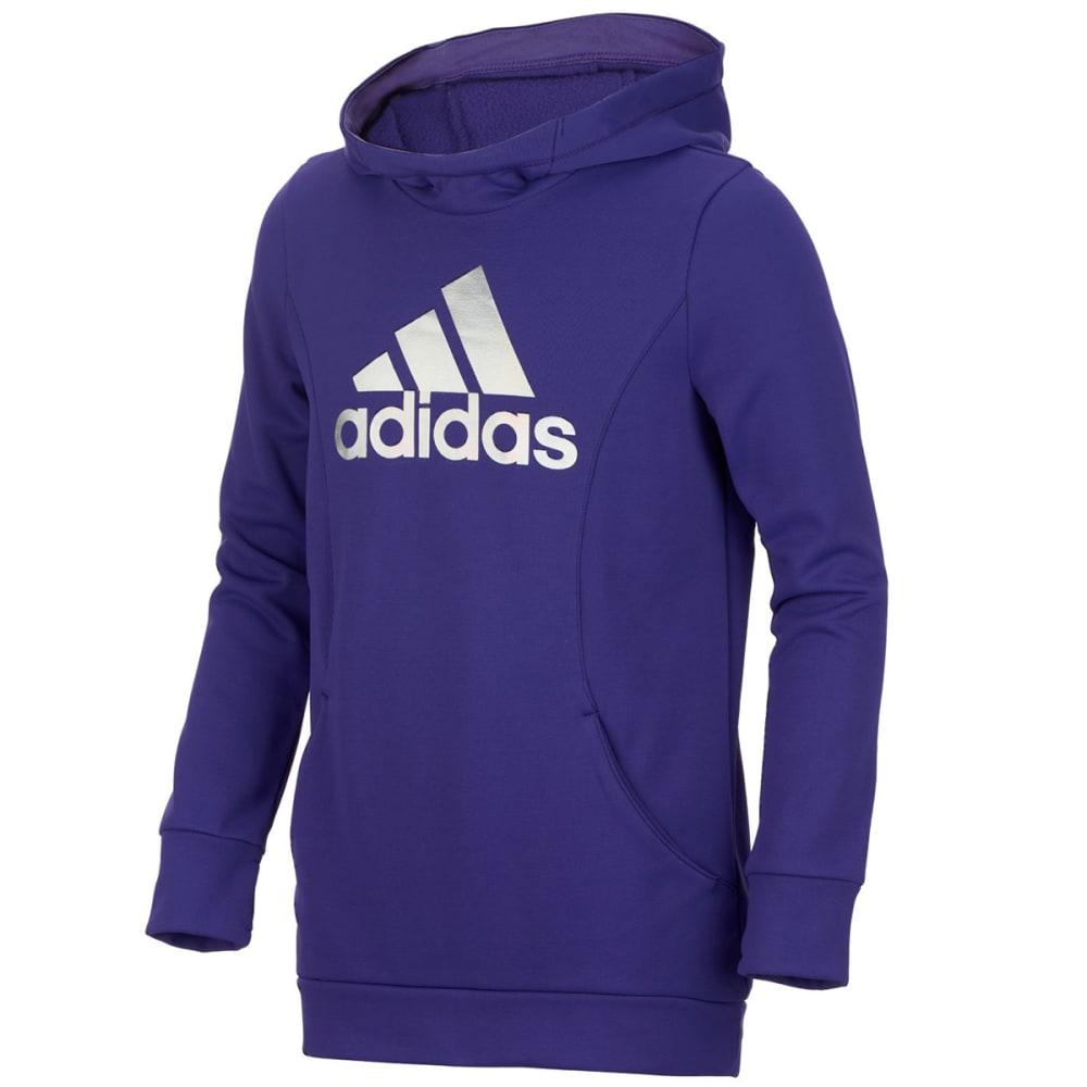 ADIDAS Big Girls' Performance Hooded Sweatshirt - ENERGY INK-AL07