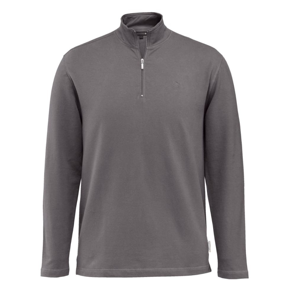 WOLVERINE Men's Benton 1/4 Zip Jacket - 045 GRANITE