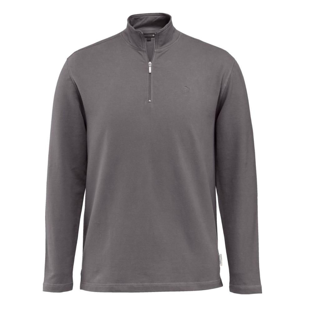 WOLVERINE Men's Benton 1/4 Zip Jacket - 045 GRANITE