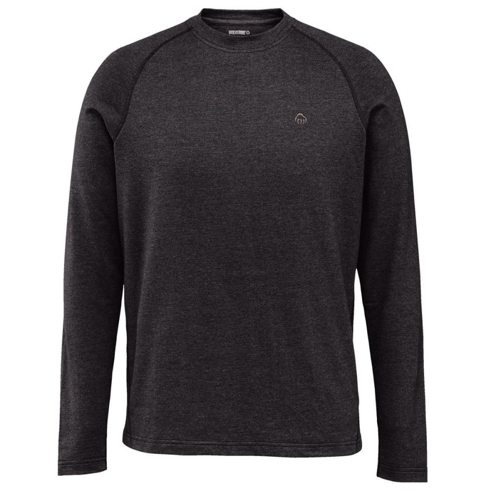 WOLVERINE Men's Ryder Raglan Long-Sleeve Tee - 003 BLACK
