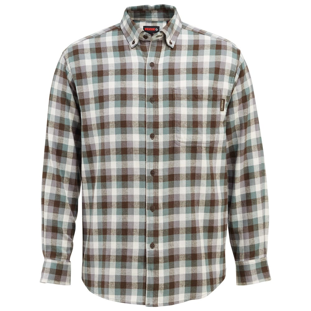 WOLVERINE Men's Hammond Long-Sleeve Flannel Shirt L