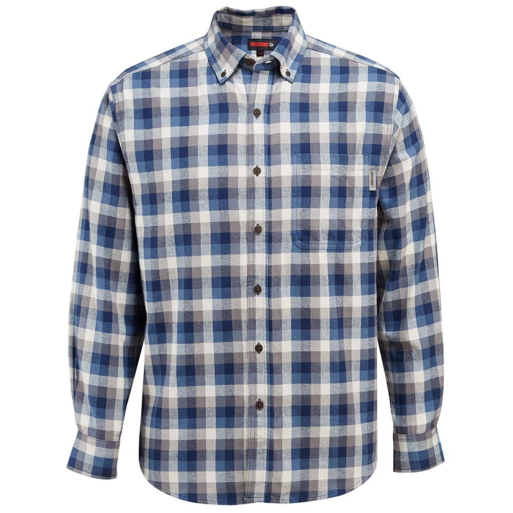 WOLVERINE Men's Hammond Long-Sleeve Flannel Shirt XXL