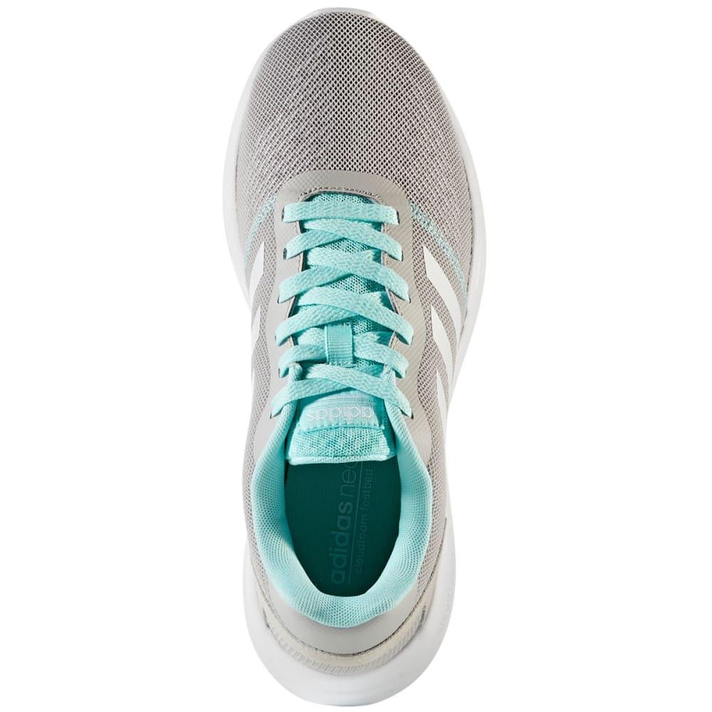 ADIDAS Women's Neo Cloudfoam Revolver Running Shoes, Grey/White/Aqua - GREY
