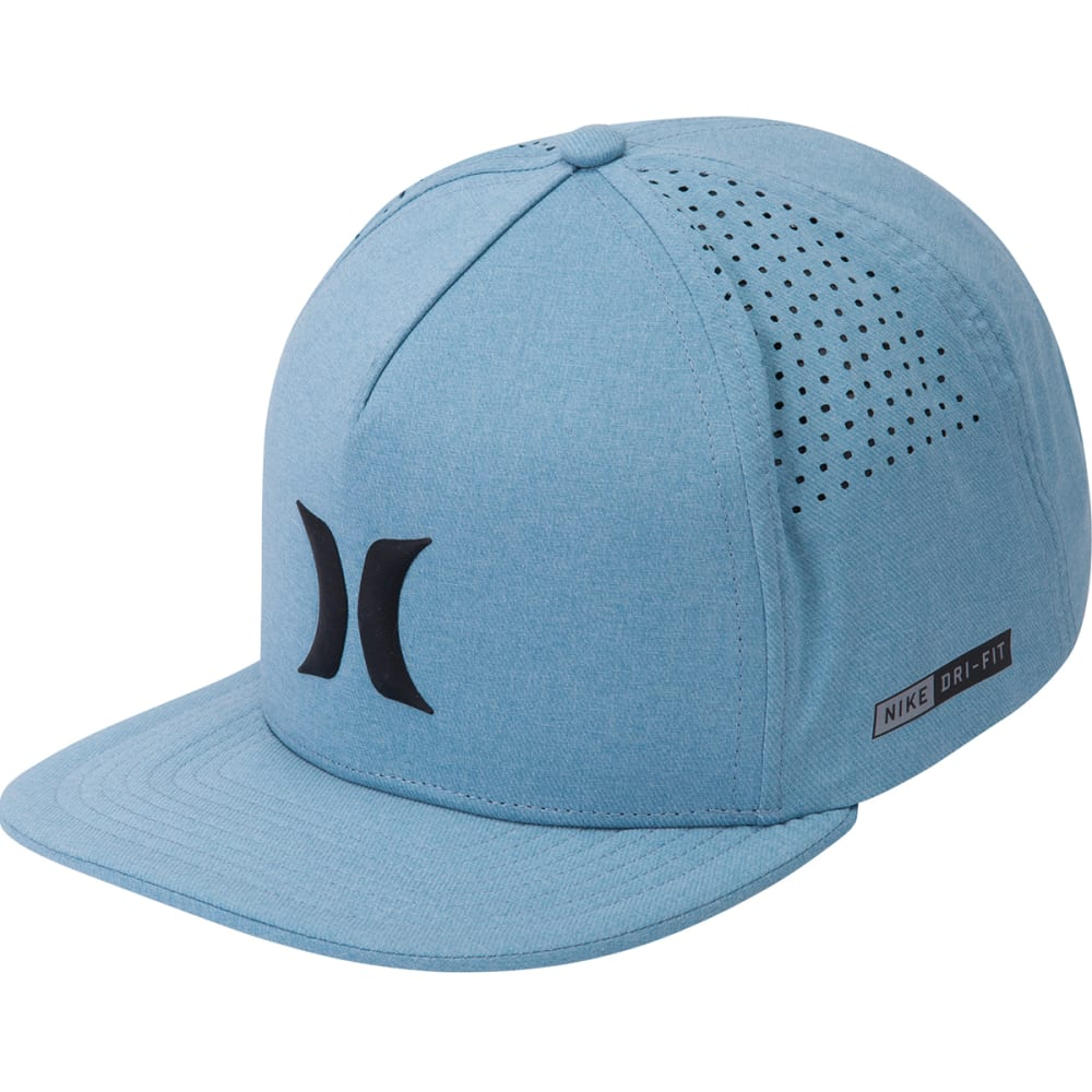 Hurley Men's Dri-Fit Icon Hat - Blue, ONESIZE