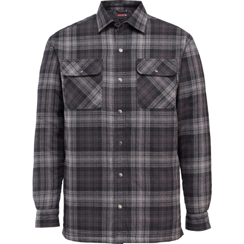 WOLVERINE Men's Forester Shirt Jacket - 020 GREY PLAID