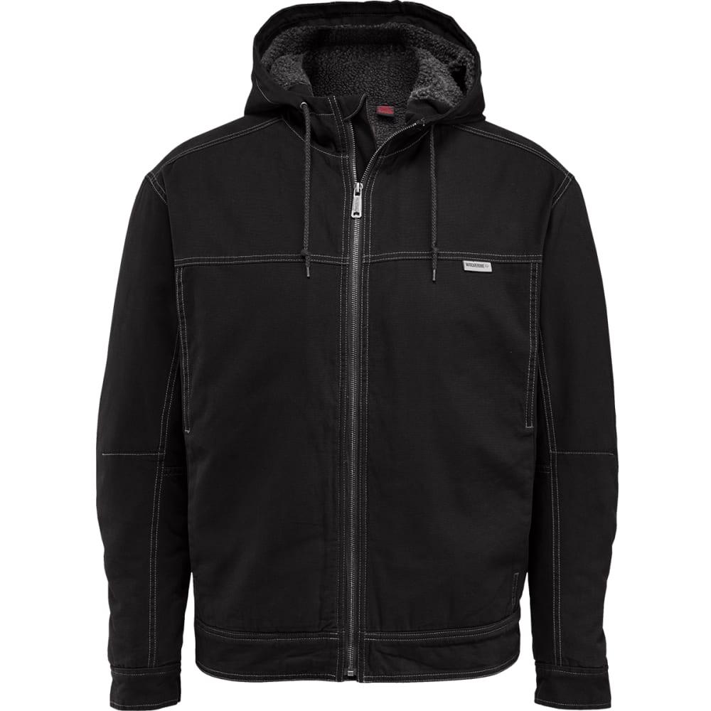 WOLVERINE Men's Porter Sherpa Hooded Jacket - 003 BLACK