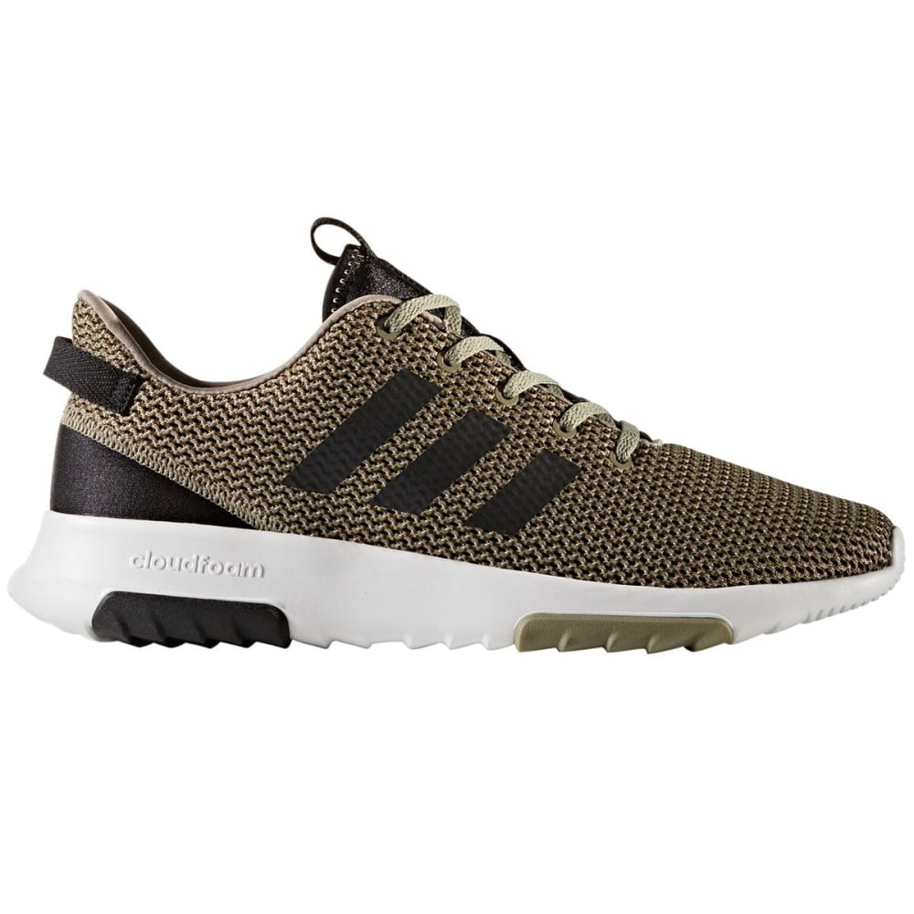 ADIDAS Men's Neo Cloudfoam Racer TR Running Shoes, Core Trace Olive/Black/Trace Cargo - OLIVE GREEN