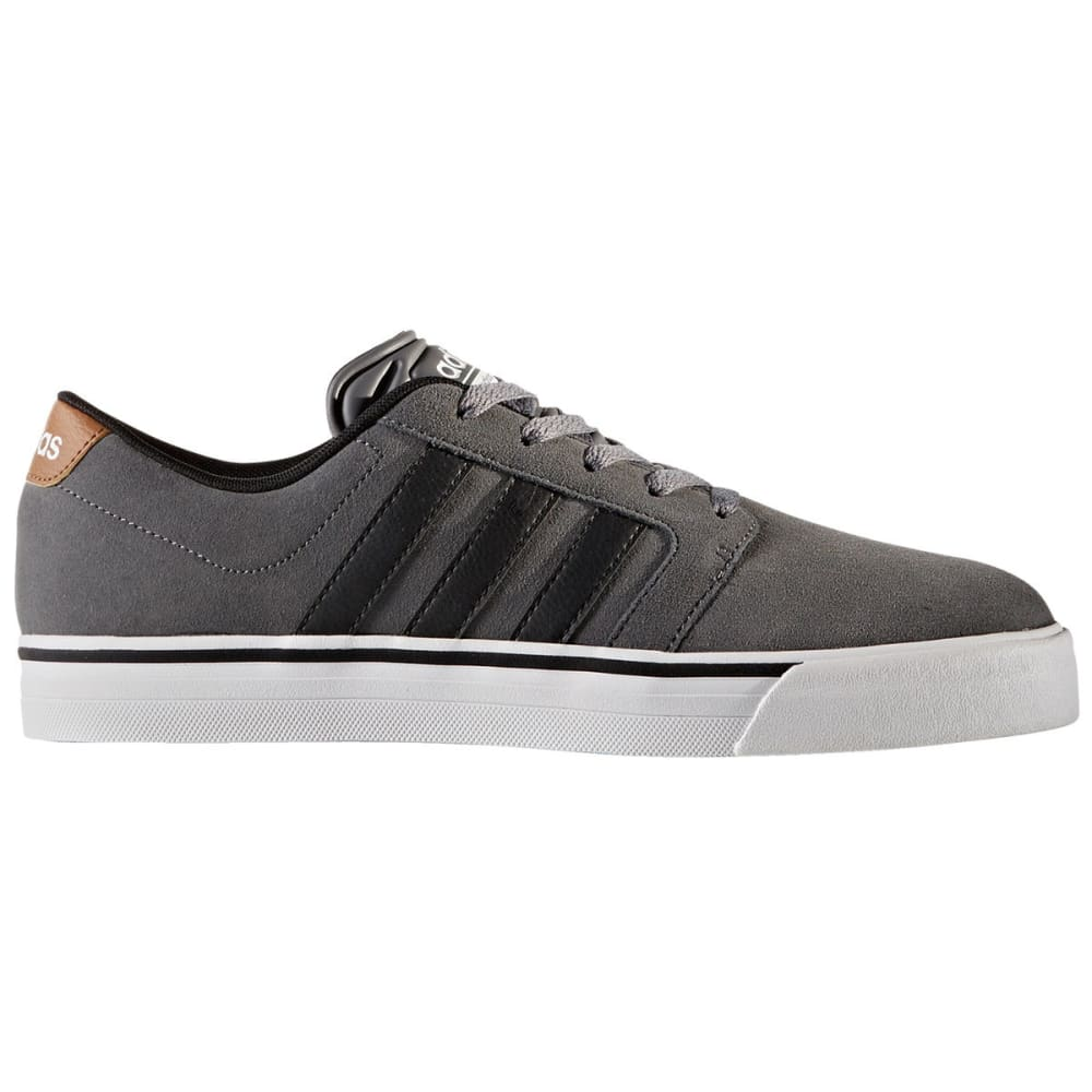 Adidas Men's Cloudfoam Super Skate Shoes, Grey/black/timber