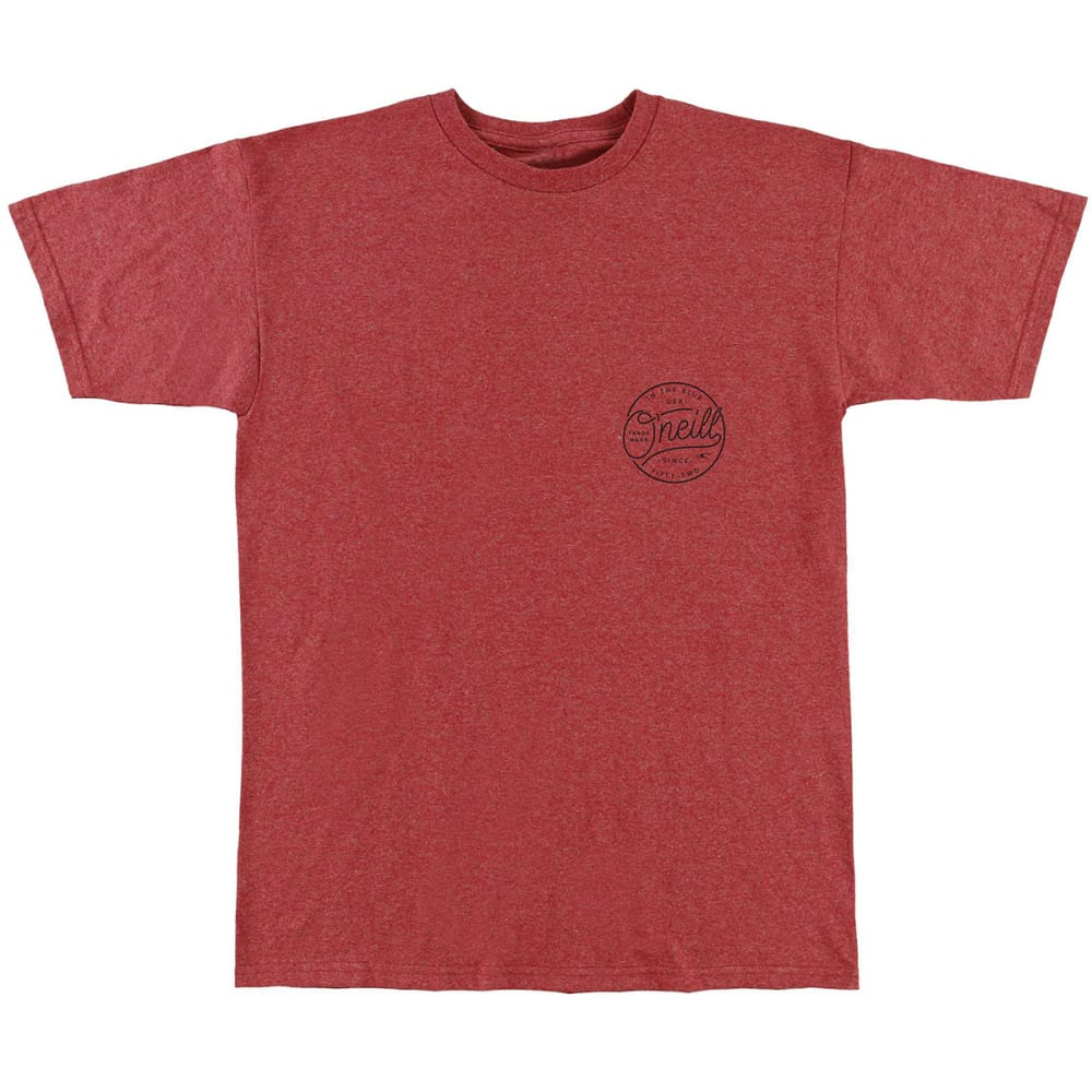 O'neill Guys' Hooked Short-Sleeve Tee - Red, S