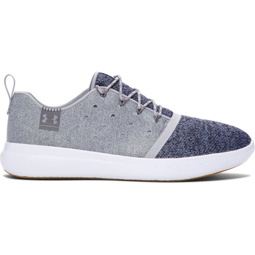 UNDER ARMOUR Men's UA Charged 24/7 Low Running Shoes, Grey/White - GREY
