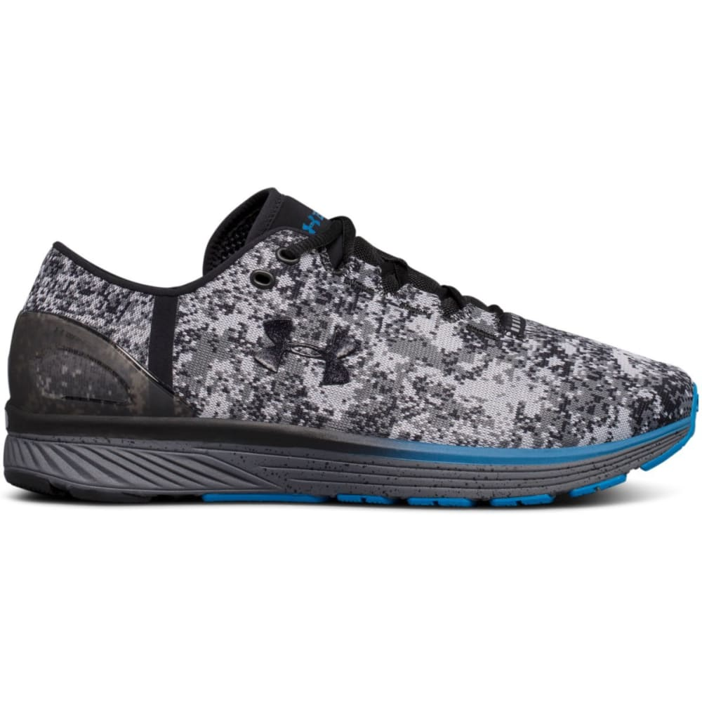 UNDER ARMOUR Men's Charged Bandit 3 Running Shoes, Digi//Black/Overcast Grey - GREEN