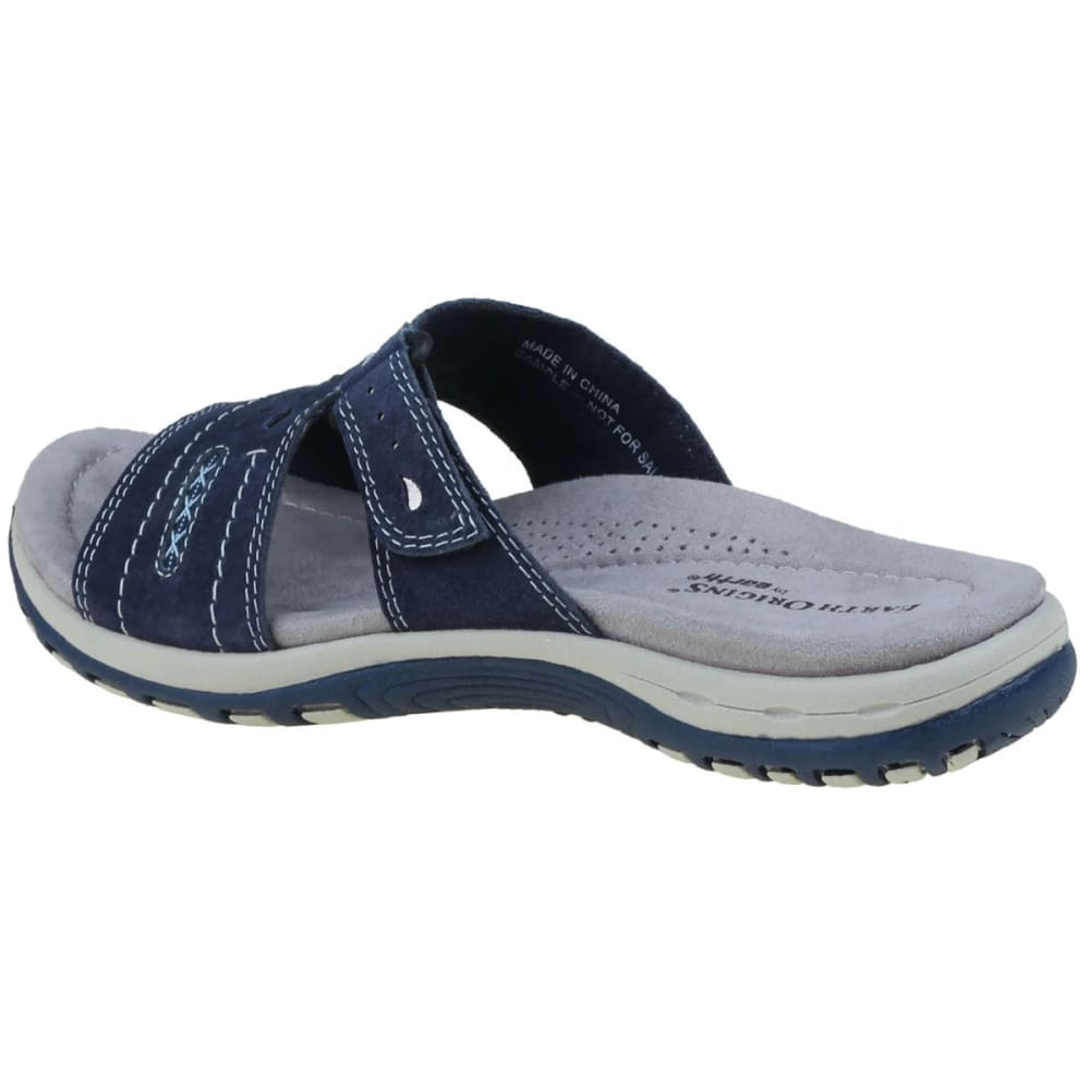 EARTH ORIGINS Women's Sizzle Slide Sandals, Navy - NAVY