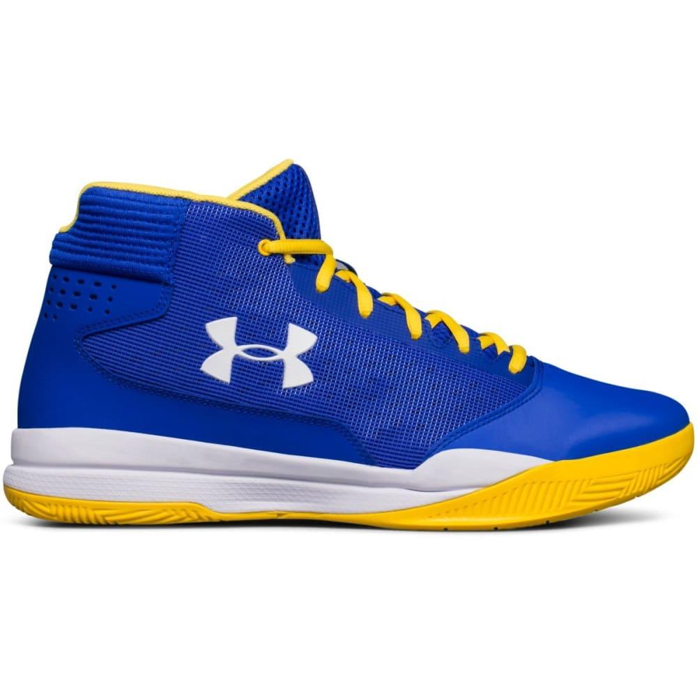 UNDER ARMOUR Men's UA Jet 2017 Basketball Shoes, Team Royal/White - ROYAL BLUE