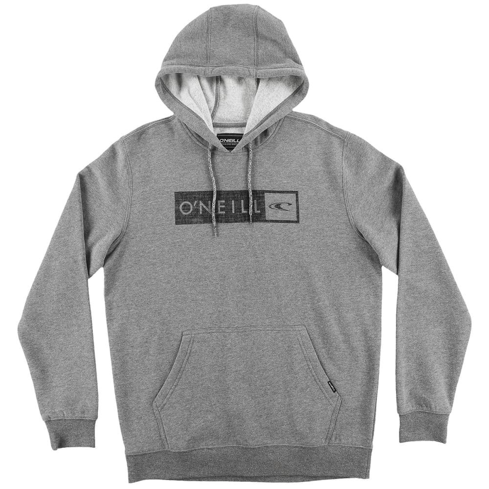 O'NEILL Guys' Framed Pullover Hoodie - GREY/HEATHER-HGR