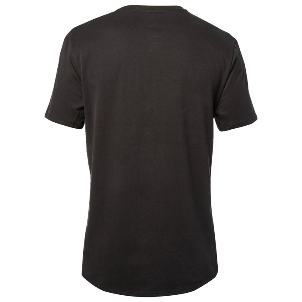 FOX RACING Guys' Abyssmal Premium Short-Sleeve Tee - DRKGRY/VINTGBLK-587