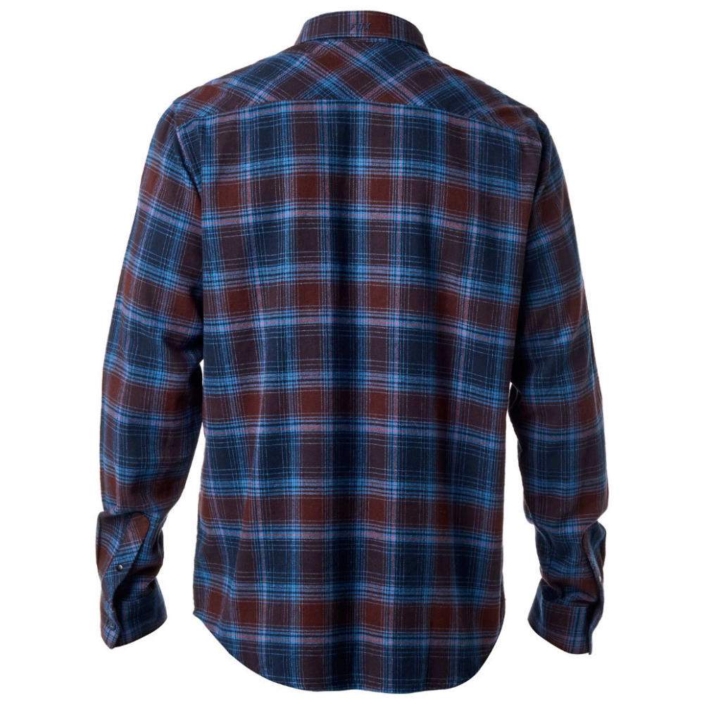 FOX Guys' Traildust Flannel Shirt - DRKBLUE/MIDNIGHT-329