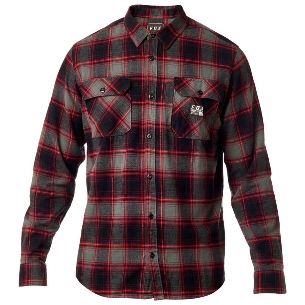 FOX Guys' Traildust Flannel Shirt M