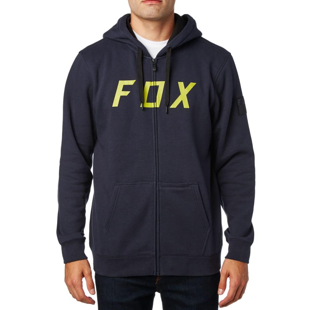 FOX Guys' District 2 Zip-Up Hoodie - DRKBLUE/MIDNIGHT-329