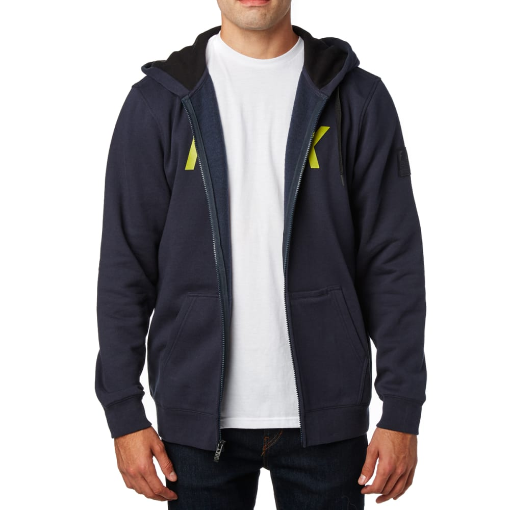 FOX Guys' District 2 Zip-Up Hoodie - DRKBLUE/MIDNIGHT-329