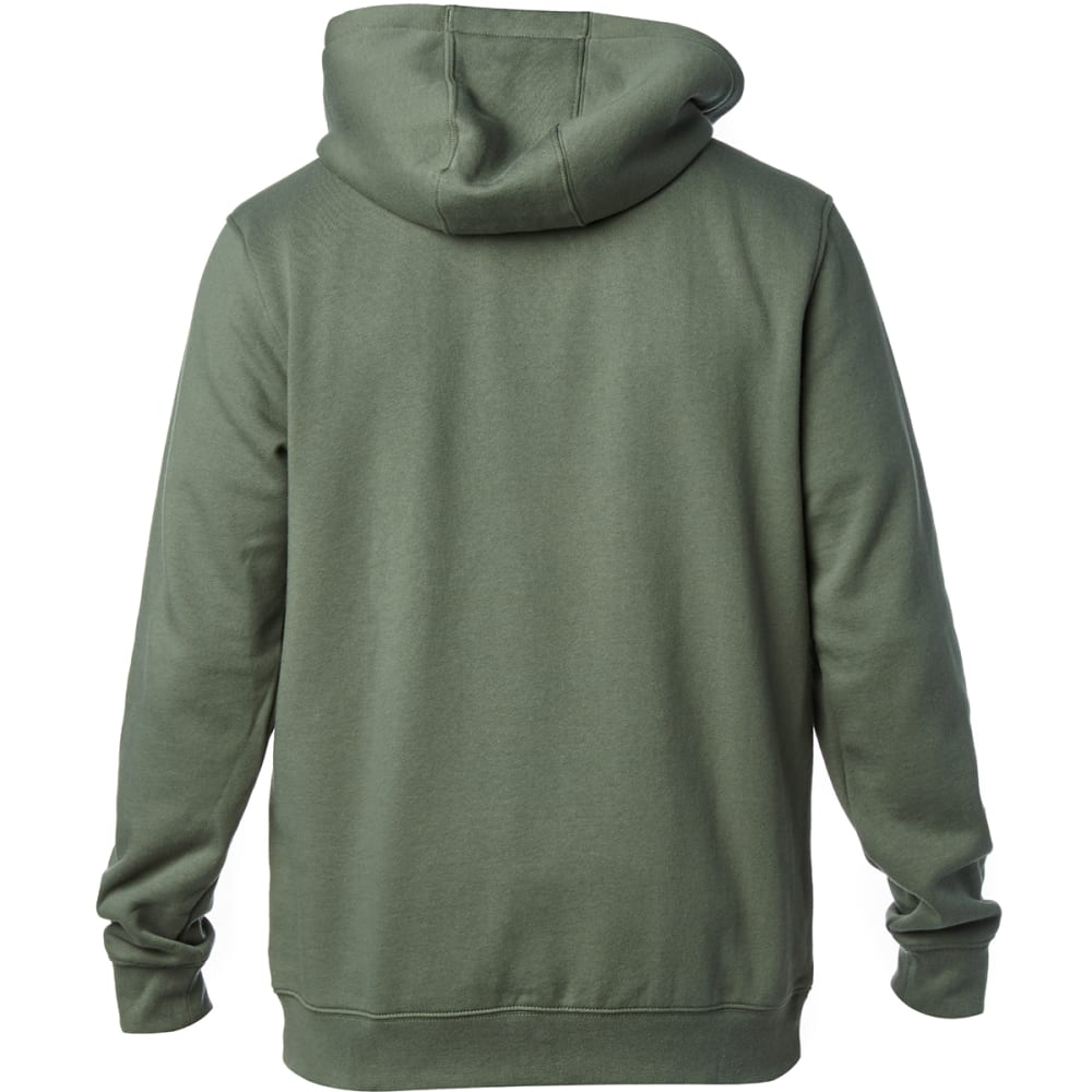 FOX RACING Guys' District 3 Full-Zip Hoodie - GREY/DRK FATIGUE-161