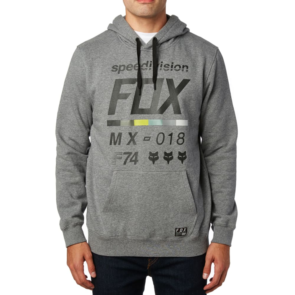 FOX Guys' District 2 Pullover Hoody - GREY/HTHR GRAPHT-185