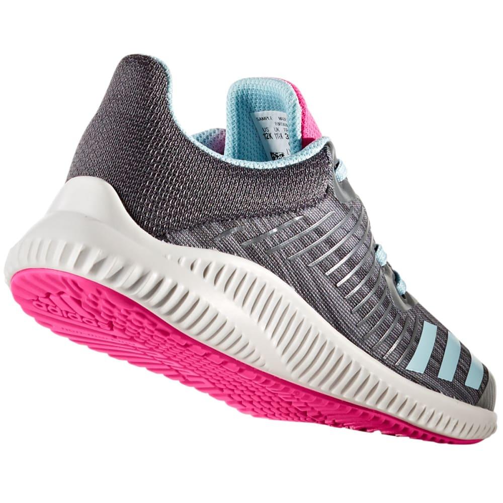 ADIDAS Girls' FortaRun K Running Shoes, Grey/Ice Blue - GREY