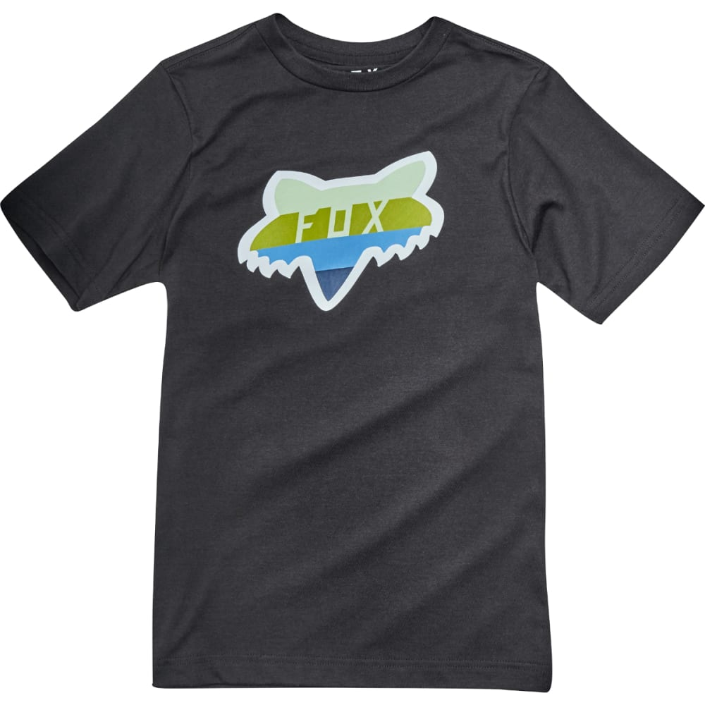 FOX Boys' Draftr Short-Sleeve Tee - BLACK-001