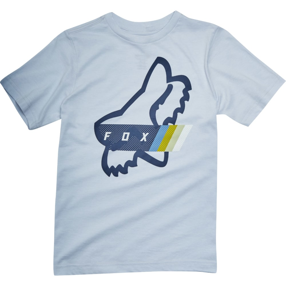 FOX Boys' Fourth Division Short-Sleeve Tee - GREY/HEATHER-040