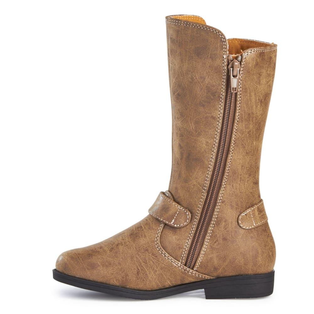 RACHEL SHOES Girls' Northfield Tall Boots, Tan - TAN