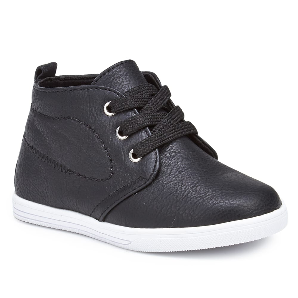 RACHEL SHOES Infant Boys' Lil Kent Chukka Shoes, Black - BLACK