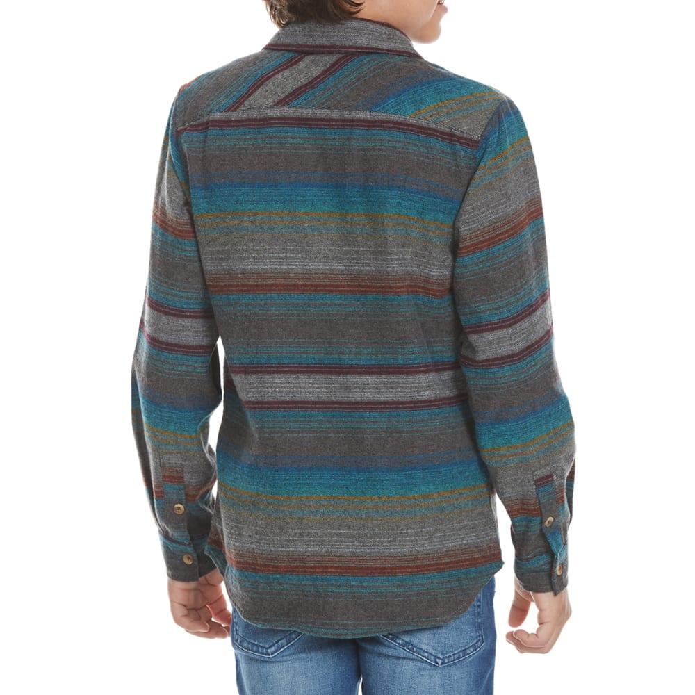 OCEAN CURRENT Boys' Hammock Stripe Flannel Long-Sleeve Shirt - MULTI
