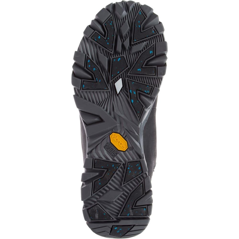 MERRELL Men's Coldpack Ice+ 8-Inch Zip Polar Waterproof Boots, Black - BLACK