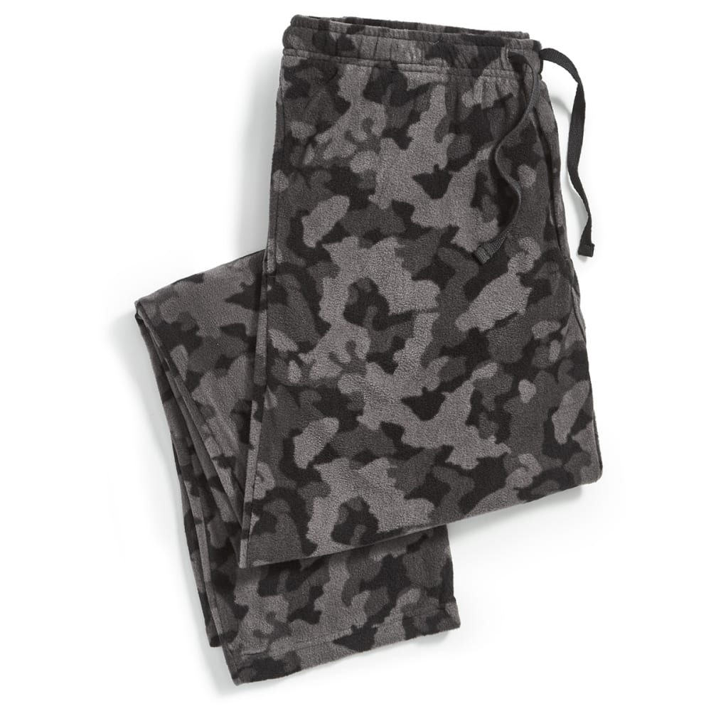 Ems Microfleece Pajama Pants - Black, M
