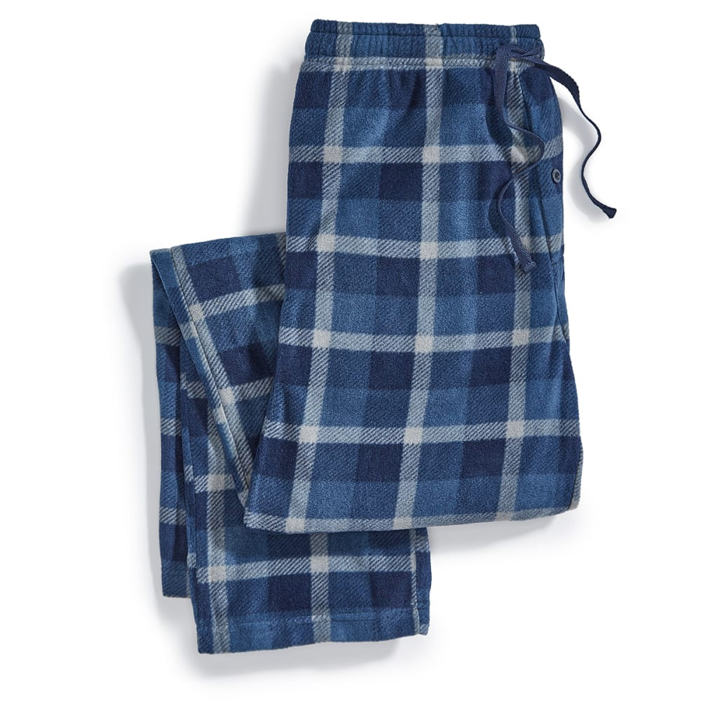 EMS® Microfleece Pajama Pants - 256-1 INDIGO PLAID